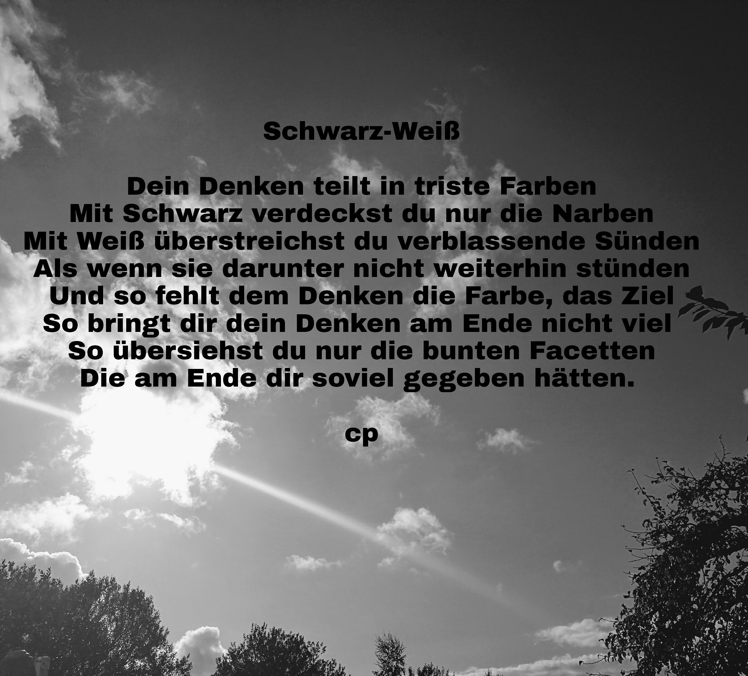 Schwarz-Weiß von Carsten Pohl