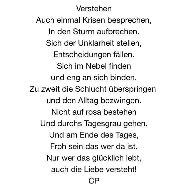Verstehen von Carsten Pohl