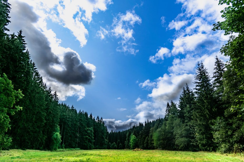 Die kleine Wolke - Kindergedicht